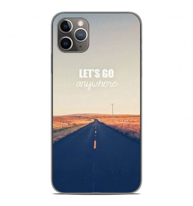 Coque en silicone Apple iPhone 11 Pro Max - Citation 03