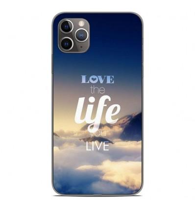 Coque en silicone Apple iPhone 11 Pro Max - Citation 06