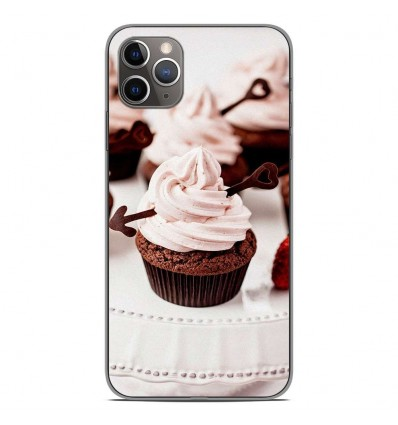 Coque en silicone Apple iPhone 11 Pro Max - Cup Cake