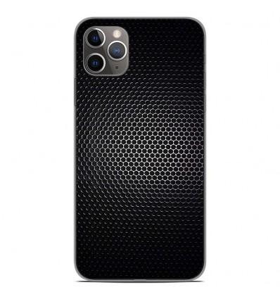 Coque en silicone Apple iPhone 11 Pro Max - Dark Metal