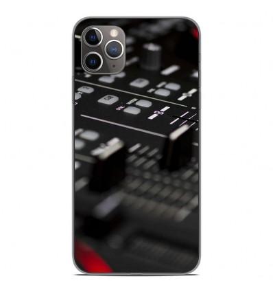 Coque en silicone Apple iPhone 11 Pro Max - Dj Mixer