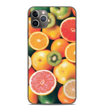 Coque en silicone Apple iPhone 11 Pro Max - Fruits