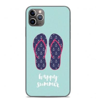 Coque en silicone Apple iPhone 11 Pro Max - Happy summer