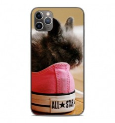 Coque en silicone Apple iPhone 11 Pro Max - Lapin allstar