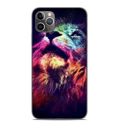 Coque en silicone Apple iPhone 11 Pro Max - Lion swag