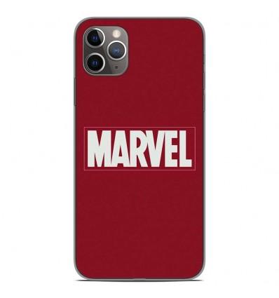 Coque en silicone Apple iPhone 11 Pro Max - Marvel