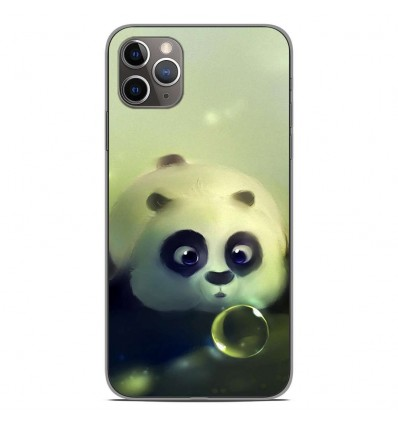 Coque en silicone Apple iPhone 11 Pro Max - Panda Bubble