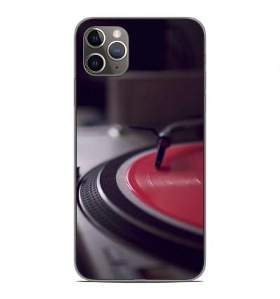 Coque en silicone Apple iPhone 11 Pro Max - Platine