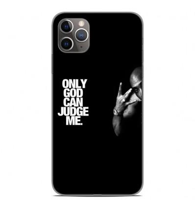 Coque en silicone pour Apple iPhone 11 Pro Max - Tupac