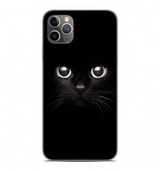 Coque en silicone Apple iPhone 11 Pro Max - Yeux de chat