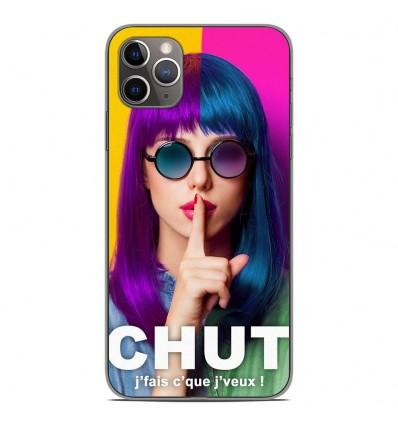 Coque en silicone Apple iPhone 11 Pro Max - Chut