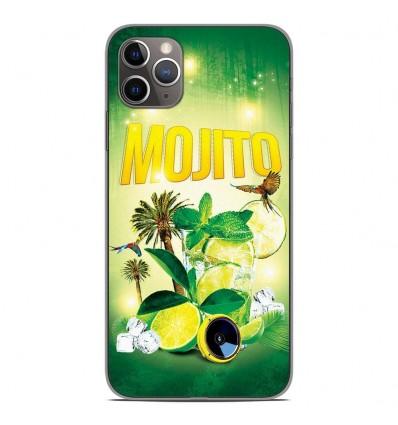Coque en silicone Apple iPhone 11 Pro Max - Mojito Forêt