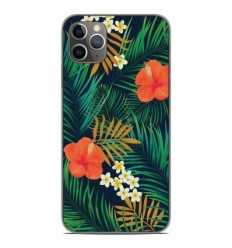 Coque en silicone Apple iPhone 11 Pro Max - Tropical