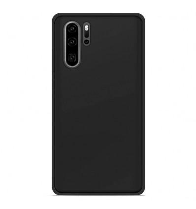 Coque Huawei P30 Pro Silicone Gel givré - Noir