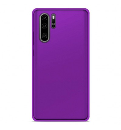 Coque Huawei P30 Pro Silicone Gel givré - Violet Translucide