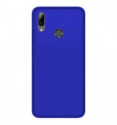 Coque Huawei P Smart 2019 Silicone Gel givré - Bleu Translucide