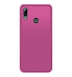 Coque Huawei P Smart 2019 Silicone Gel givré - Rose Translucide