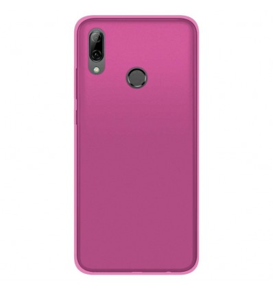 Coque Huawei Honor 10 Lite Silicone Gel givré - Rose Translucide