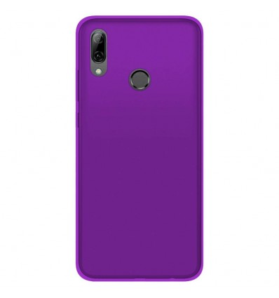 Coque Huawei Honor 10 Lite Silicone Gel givré - Violet Translucide