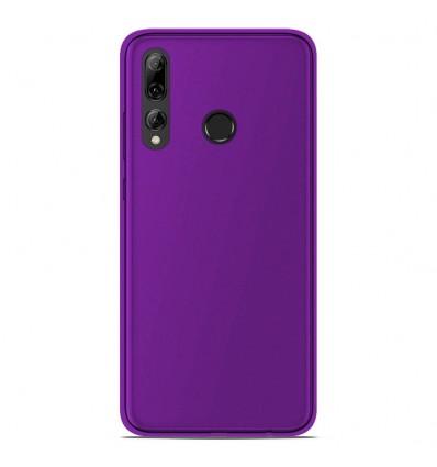 Coque Huawei P Smart Plus 2019 Silicone Gel givré - Violet Translucide