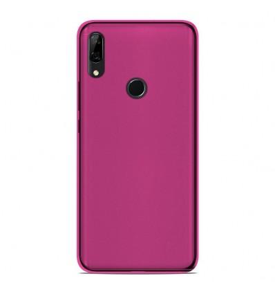 Coque Huawei P Smart Z Silicone Gel givré - Rose Translucide