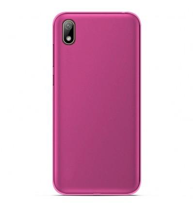 Coque pour Huawei Y5 2019 Silicone Gel givré - Rose Translucide