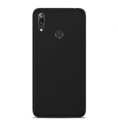 Coque Samsung Galaxy A10 Silicone Gel givré - Noir
