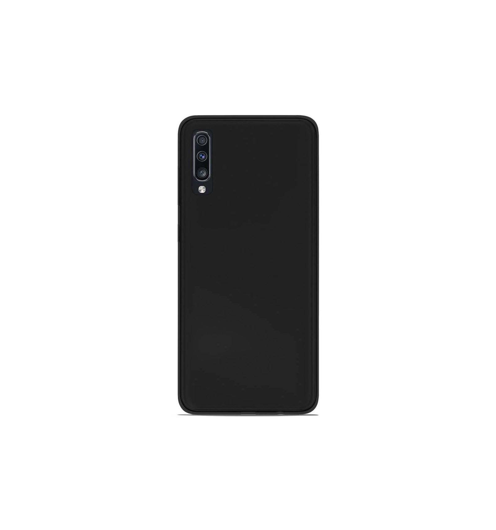 coque samsung a70 silicone noir