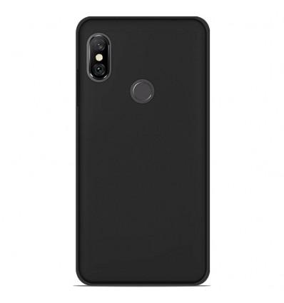Coque Xiaomi Redmi Note 6 / Note 6 Pro Silicone Gel givré - Noir