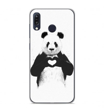 Coque en silicone Asus Zenfone Max M1 ZB555KL - BS Love Panda