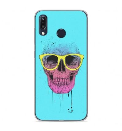 Coque en silicone Asus Zenfone Max M1 ZB555KL - BS Skull glasses