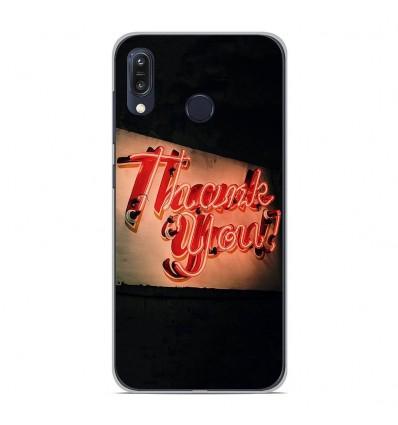 Coque en silicone Asus Zenfone Max M1 ZB555KL - Thank You