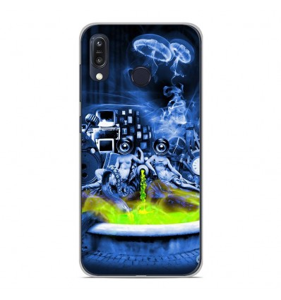 Coque en silicone Asus Zenfone Max M1 ZB555KL - Fontaine