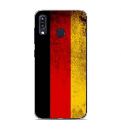 Coque en silicone Asus Zenfone Max M1 ZB555KL - Drapeau Allemagne