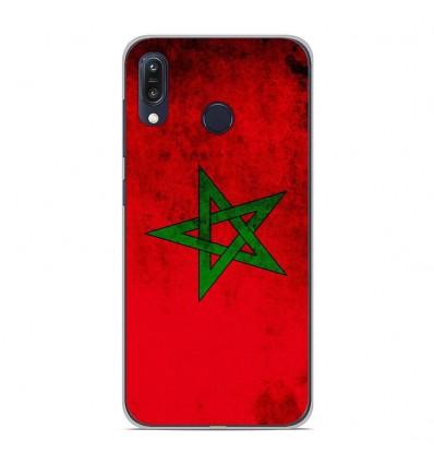 Coque en silicone Asus Zenfone Max M1 ZB555KL - Drapeau Maroc