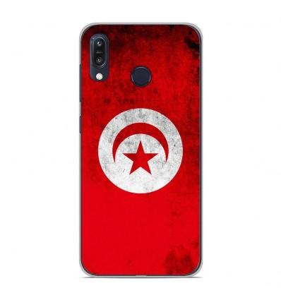 Coque en silicone Asus Zenfone Max M1 ZB555KL - Drapeau Tunisie