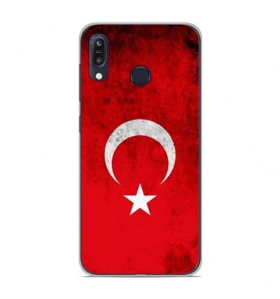 Coque en silicone Asus Zenfone Max M1 ZB555KL - Drapeau Turquie
