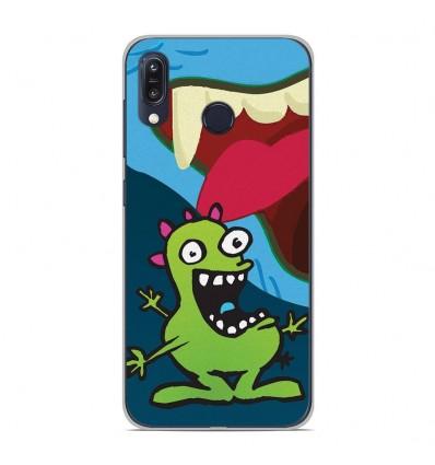 Coque en silicone Asus Zenfone Max M1 ZB555KL - Happy Monster