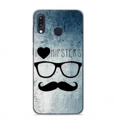 Coque en silicone Asus Zenfone Max M1 ZB555KL - I Love Hipster
