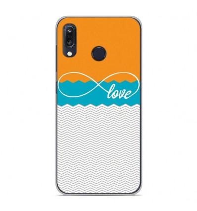 Coque en silicone Asus Zenfone Max M1 ZB555KL - Love Orange