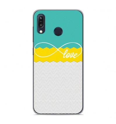 Coque en silicone pour Asus Zenfone Max M1 ZB555KL - Love Turquoise