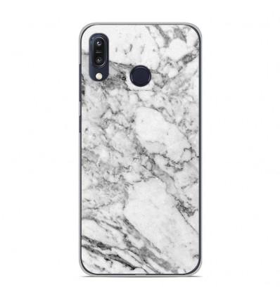 Coque en silicone Asus Zenfone Max M1 ZB555KL - Marbre Blanc