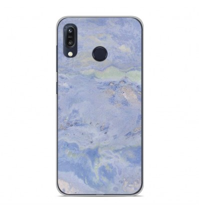 Coque en silicone Asus Zenfone Max M1 ZB555KL - Marbre Bleu