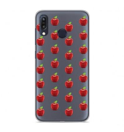Coque en silicone Asus Zenfone Max M1 ZB555KL - Pommes Gris