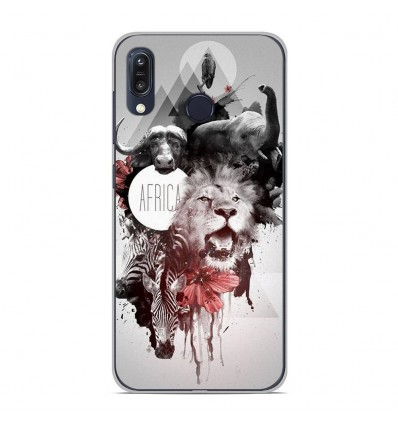 Coque en silicone Asus Zenfone Max M1 ZB555KL - Africa Swag