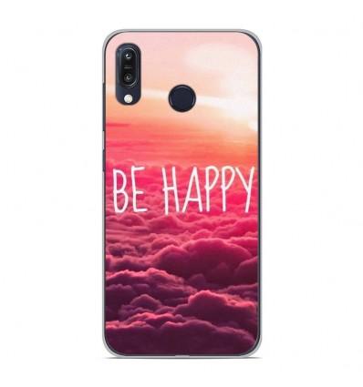 Coque en silicone pour Asus Zenfone Max M1 ZB555KL - Be Happy nuage