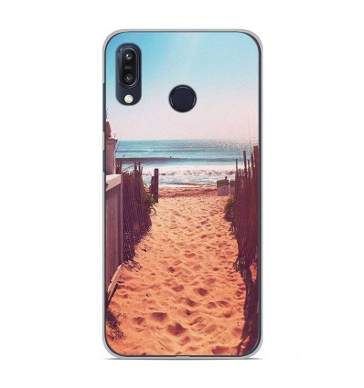 Coque en silicone Asus Zenfone Max M1 ZB555KL - Chemin de plage