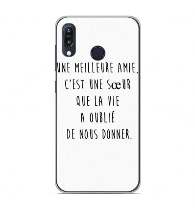 Coque en silicone Asus Zenfone Max M1 ZB555KL - Citation 04