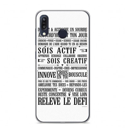 Coque en silicone Asus Zenfone Max M1 ZB555KL - Citation 11