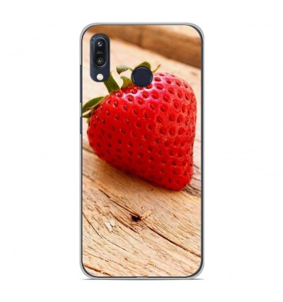 Coque en silicone Asus Zenfone Max M1 ZB555KL - Envie d'une fraise